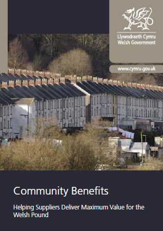 Community Benefits - Helping Suppliers Deliver Maximum Value for the Welsh Pound